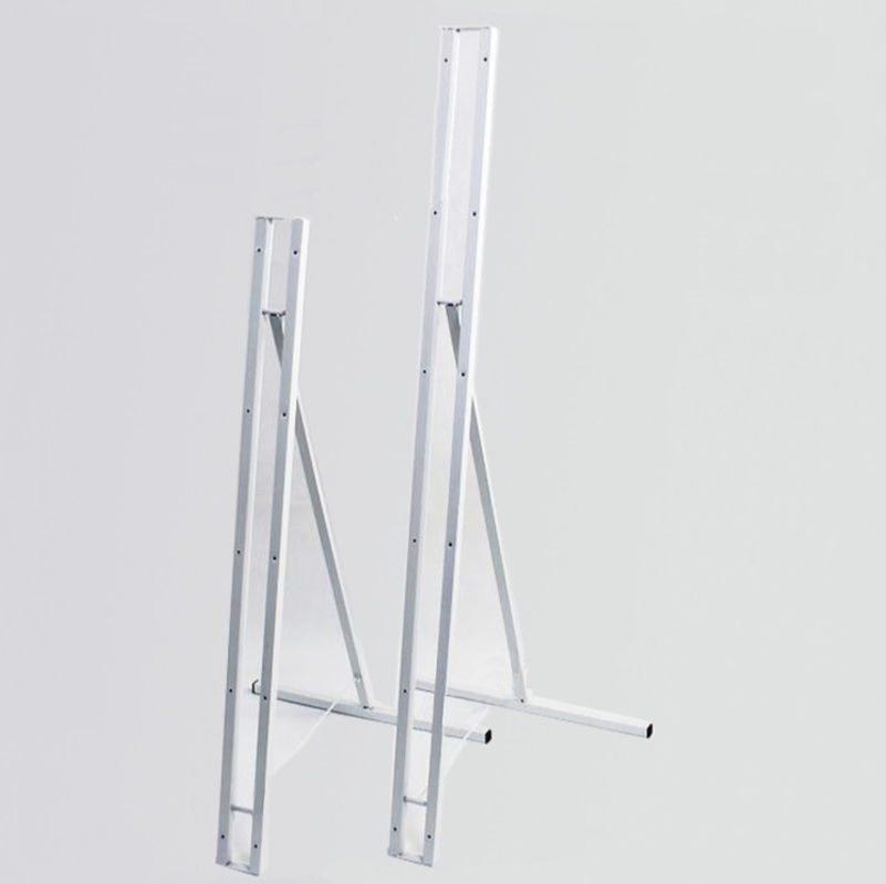 Foldable Sign Holder Floor Metal Poster Stand Human Shape Banner Digital Display Stand